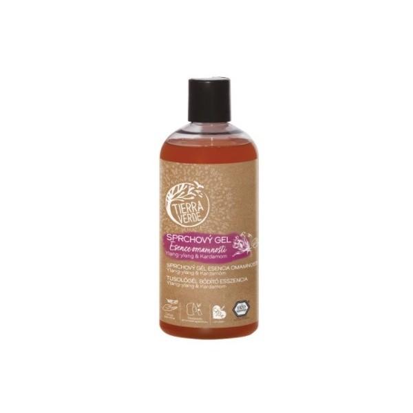 Tierra Verde Sprchový gel Esence omamnosti – Ylang-ylang & Kardamom (500 ml)