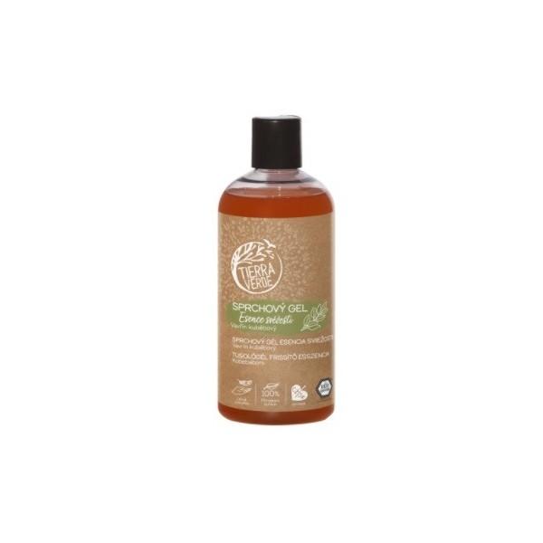 Tierra Verde Sprchový gel Esence svěžesti – Vavřín kubébový (500 ml)