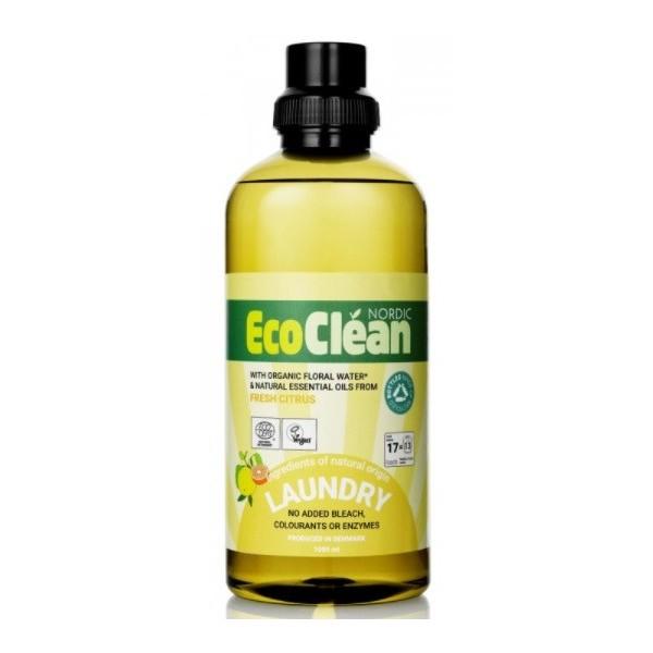 Eco Clean Tekutý prací prostředek Svěží citrus 1 l