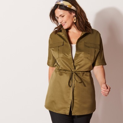 Saharská maxi košile