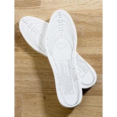 Piankowe wkładki do butów