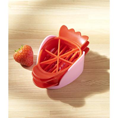 4dílný kráječ jahod