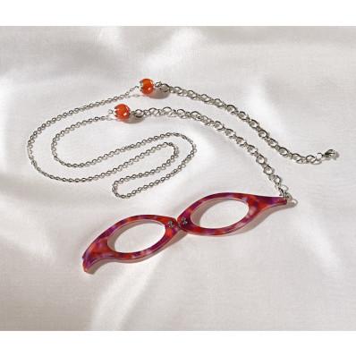 Okuliare na čítanie s retiazkou