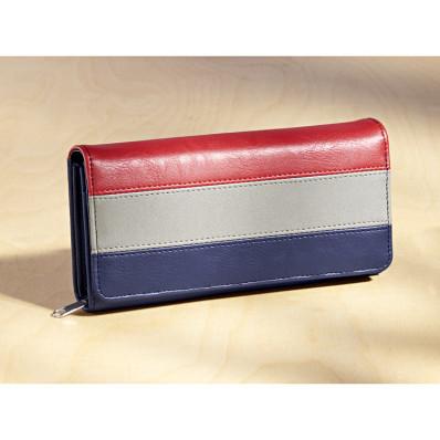 Hosszú pénztárca Tricolor