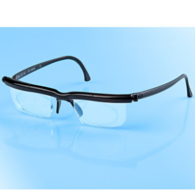 Dioptrické brýle, transparentní
