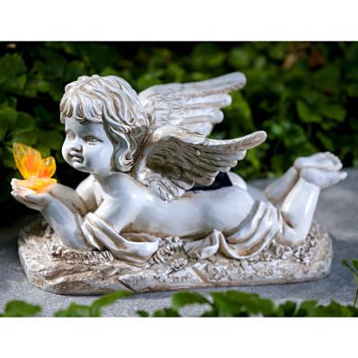 Solárny anjel na hrob