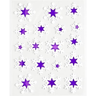 """18-dielny obraz na okno """"Hviezdy"""""""