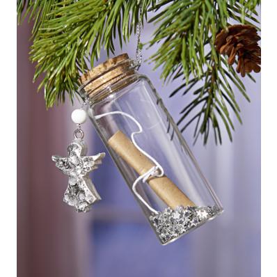 Ajándéktartó üveg