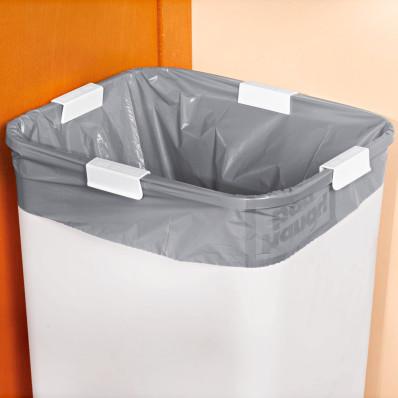 Klamry na worek na śmieci