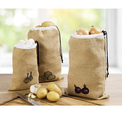 Jutový sáček na brambory