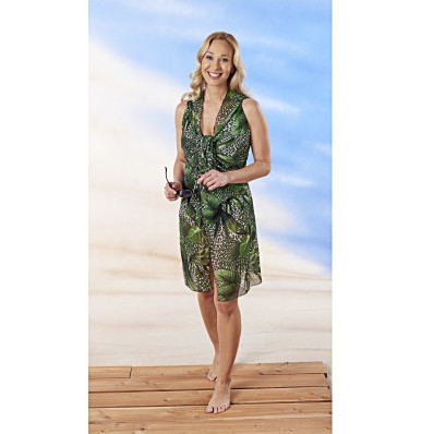 Šaty Tropický vzhled