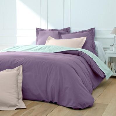 Jednofarebná posteľná bielizeň, bavlnený