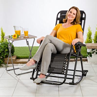 Zahradní houpací židle 2 v 1