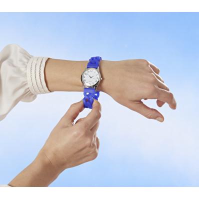 Elastyczny zegarek na rękę