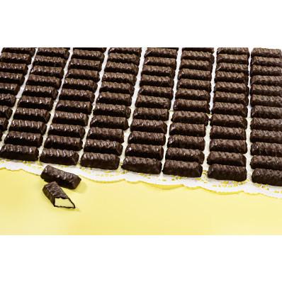 Marcipánové tyčinky v hořké čokoládě