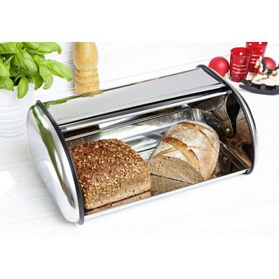 Cutie argintie pentru paine
