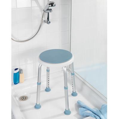 Regulowany stołek łazienkowy