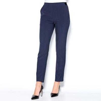 Nohavice s pružným pásom a záševkami