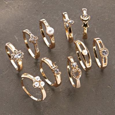 10 prsteňov
