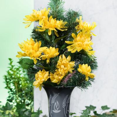 Vaza pentru florile de pe mormant