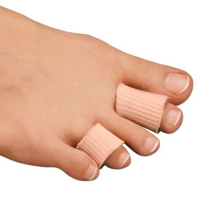 Delikatne opatrunki na palce u stóp