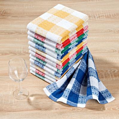 Ręczniki kuchenne Karo, 12 szt.