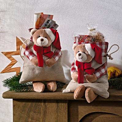 1 woreczek na prezent Teddy