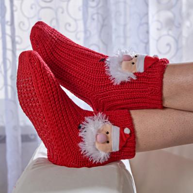 """Protišmykové ponožky """"Mikuláš"""""""