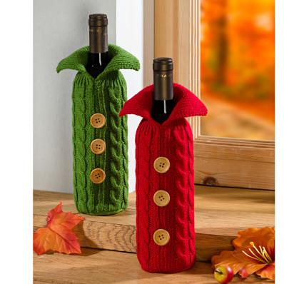 Sweterek na butelkę