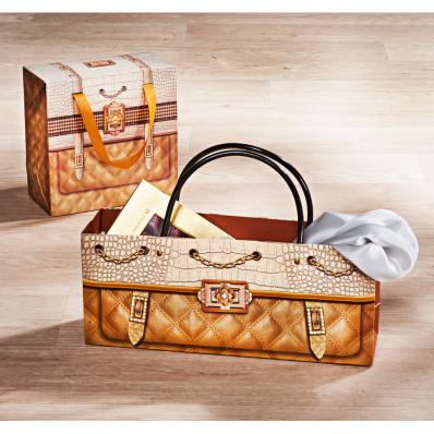 Darčeková taška, štvorcový formát