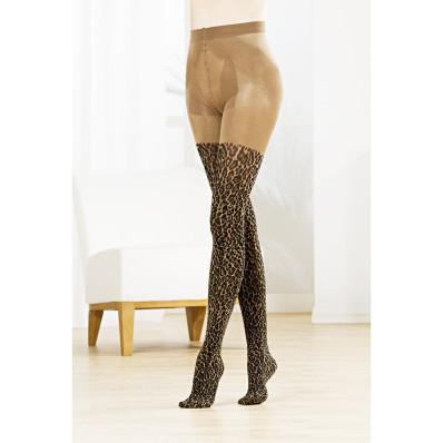 Podporné pančuchové nohavice Leopard