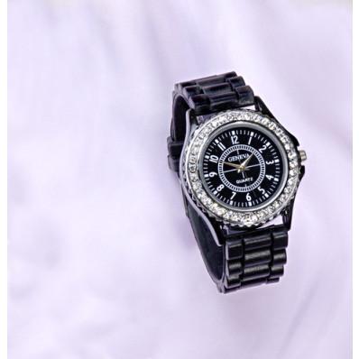 Dámske hodinky, čierna