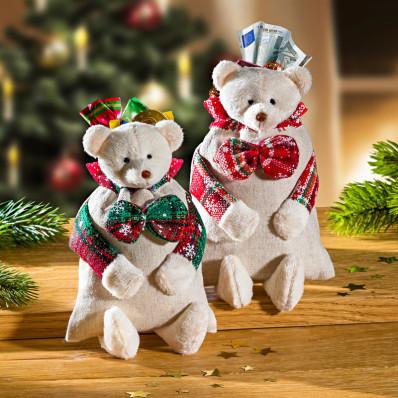 """2 darčekové vrecká """"Medveď"""""""