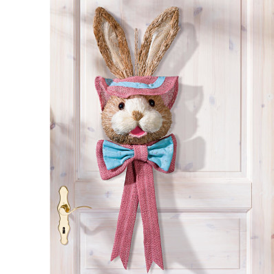 Húsvéti dekoráció Ajtónálló nyúl
