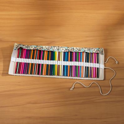 Ceruzatekercs 48 színes ceruzával