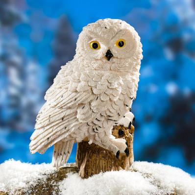 """Dekorační figurka """"Sněžná sova"""""""