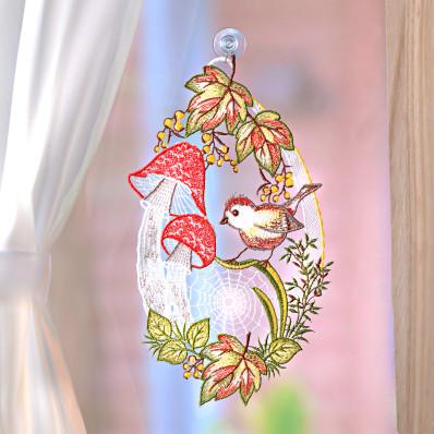 """Okenní dekorace """"Podzim"""""""