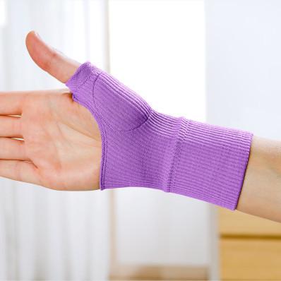 Żelowy bandaż na nadgarstek Lawenda