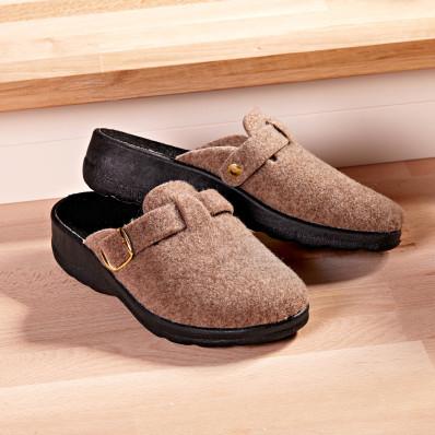 Domácí obuv, béžová