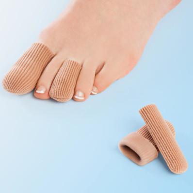 4 ochranné gelové návleky na prsty