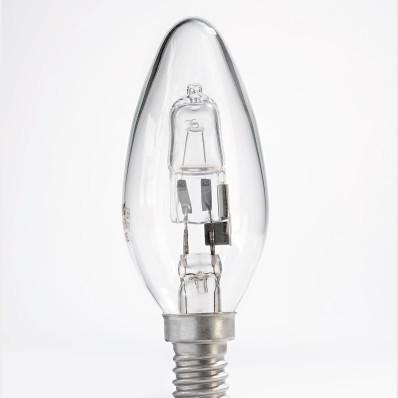3 sviečkové halogénové žiarovky