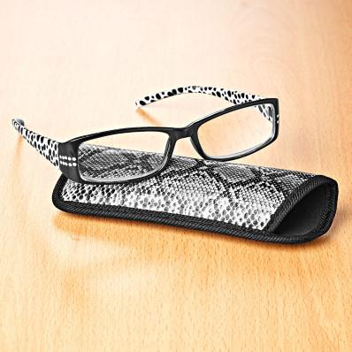Olvasószemüveg + tok