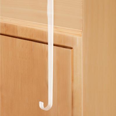 2 háky na dveře