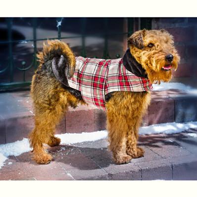 "Kabátik pre psa ""Charlie"" S"