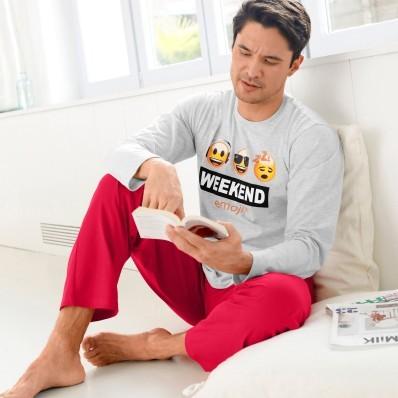 Pyžamo s kalhotami Emoji