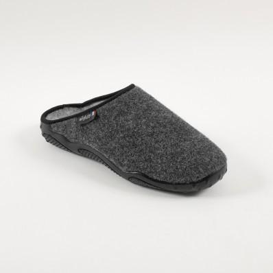 Papuče s podrážkou Airplum, vlnený vzhľa