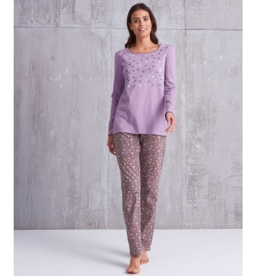 Pyžamové nohavice, jednofarebné alebo s potlačou