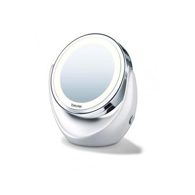Oglinda cosmetica cu iluminare alba
