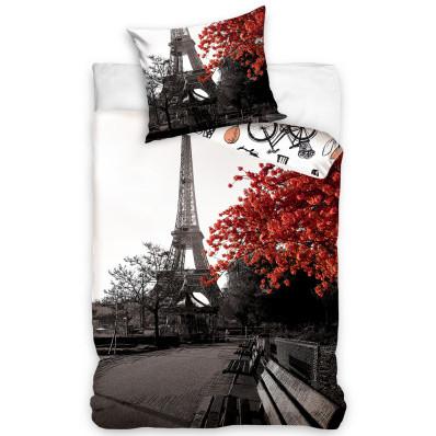 Lenjerie de pat din bumbac Toamna Paris
