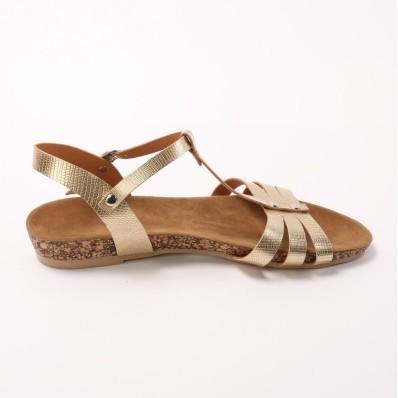 Sandály metalické